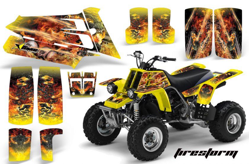 AMR RACING ATV QUAD YAMAHA BANSHEE GRAPHICS KIT STICKERS 350   FREE