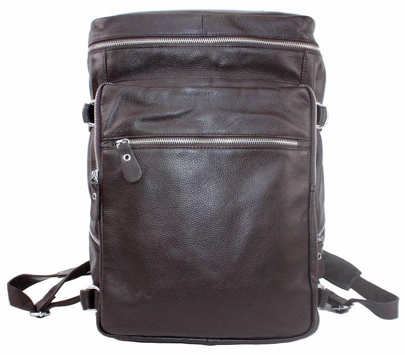 /Ladies Genuine Cowhide Leather Travel Bag/Backpack Laptop U6
