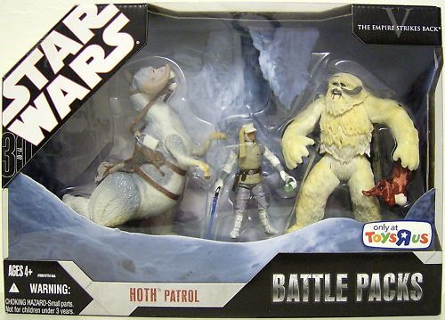 HOTH PATROL Star Wars 30th Battle Packs Toys R Us 07