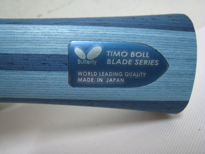 Butterfly Timo Boll ALC Table Tennis Blade (OFF) + GF