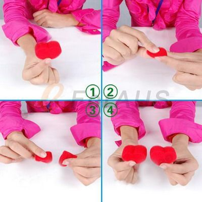 Toy   Jumbo Sponge Heart, Special for Valentines Day Gifts