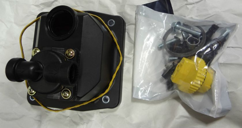 KOHLER VALVE COVER W/ OIL FILL AND FUEL PUMP 24 559 10 S  LINCOLN